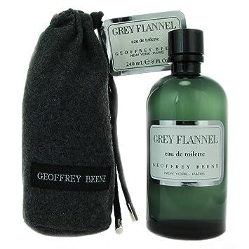 De nuevo Geoffrey Beene De color gris De la franela De hombre De piel De Colonia De imitación Toilette De aroma De esencia del Splash 240 ml: Amazon.es: ...