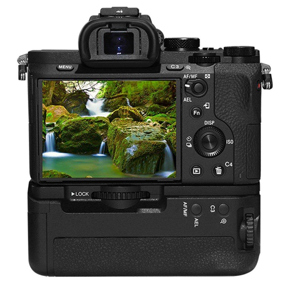 A7II A7R II A7S II Pixel AG-C2 Impugnatura Porta Batteria Grip multifunzione per Sony macchina fotografica Alpha ILCE Sostituzione di Sony VGC2EM
