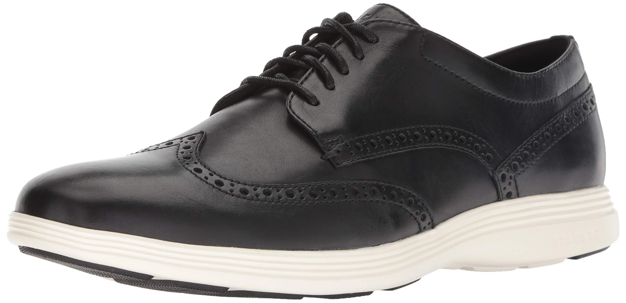 Cole Haan Men's Grand Crosscourt II Sneaker, Black, 8.5 M US