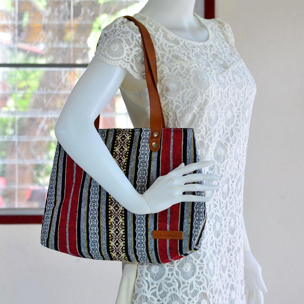 Bohemian / Handbags / Purses / Tote bags / Anniversary Gifts / Christmas Gift Ideas / Red / Stripe