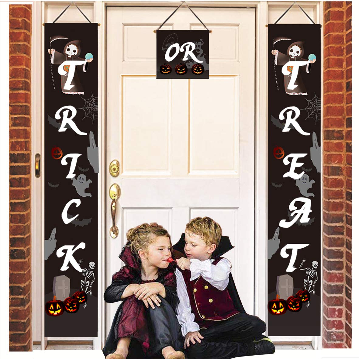 Cute easy to put up photo prop for halloween