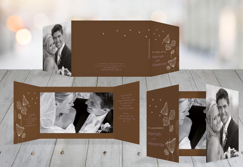 Kartenparadies Danksagung für Hochzeitsgeschenke Hochzeit Dankeskarte PusteBlaume, hochwertige Danksagungskarte Hochzeitsglückwünsche inklusive Umschläge   10 Karten - (Format  148x105 mm) Farbe  Orangerot B01MUD2808 | Won hoch geschät
