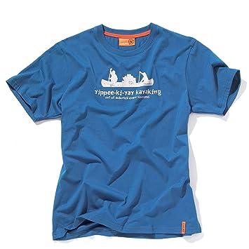 Bear Grylls Hombres Chaqueta Yippee Kayak T Shirt, Hombre, Color Cobalt, tamaño Extra-Large: Amazon.es: Deportes y aire libre