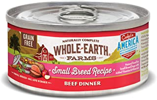 product image for Whole Earth Farms Small Breed Grain Free Canned Wet Dog Food (Case of 24)