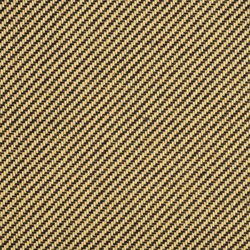 (Mellotone Tweed Amplifier & Speaker Cabinet Covering Brown/Yellow Yard 64