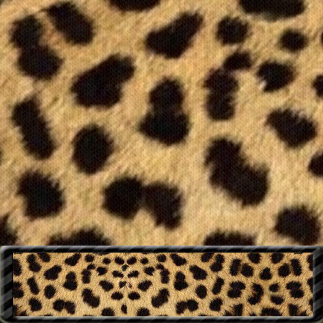Moose Pet Wear Deluxe Dog Leash - Patterned Heavy Duty Pet Leashes, Made in the USA – 3/4 Inch x 6 Feet, Leopard