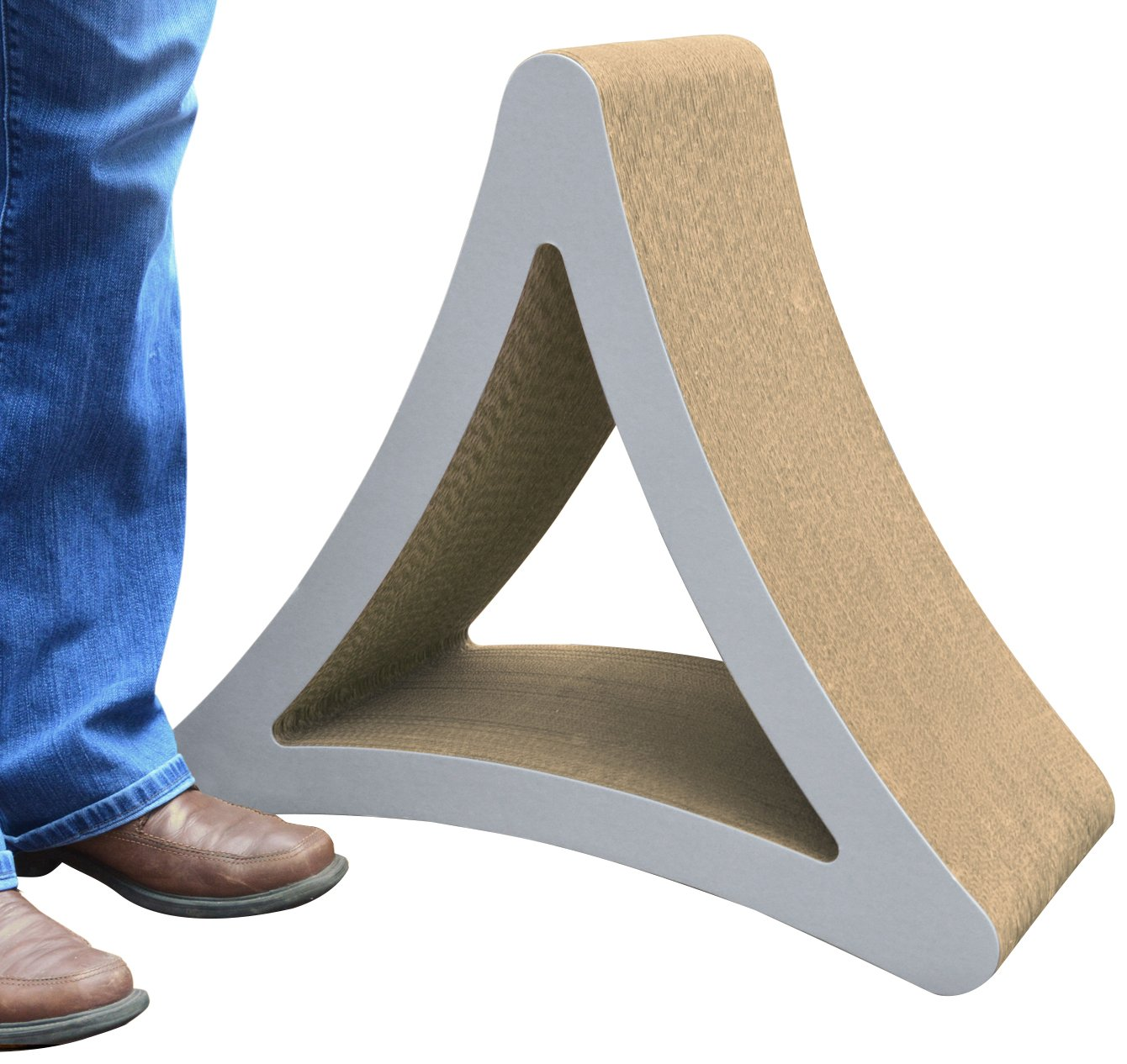 PetFusion 3-Sided Vertical Cat Scratcher and Post (Available in Two Sizes)