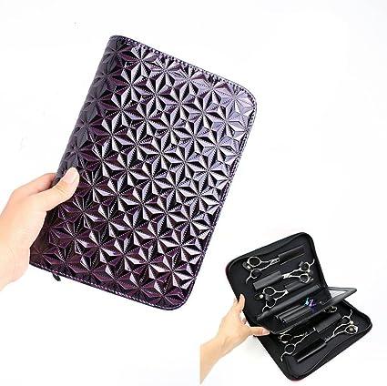 Funda para tijeras de peluquería con diseño de diamante: Amazon.es: Belleza