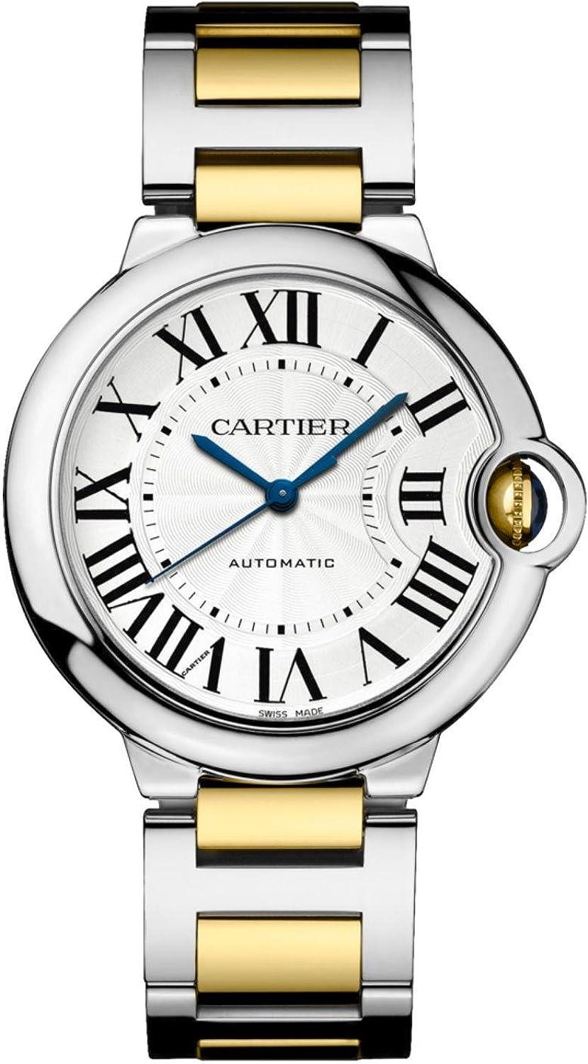 Cartier Ballon Bleu Reloj Unisex Automático Esfera Plateada W2BB0012