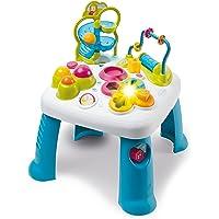 Smoby 110426 Table d'Activités Cotoons Activity-speeltafel, baby, motoriek, knikspel, steekspel, voor kinderen vanaf 12…