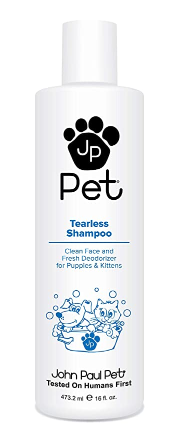 e86f5d19c973 John Paul Pet Tearless Odor Absorbing Shampoo, Clean and Fresh Low PH  Formula for Puppies, Dogs, Kittens and Cats