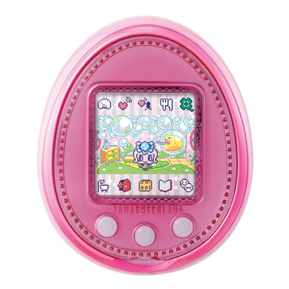 TAMAGOTCHI 4U+ Bandai - Baby Pink by Bandai (Image #1)
