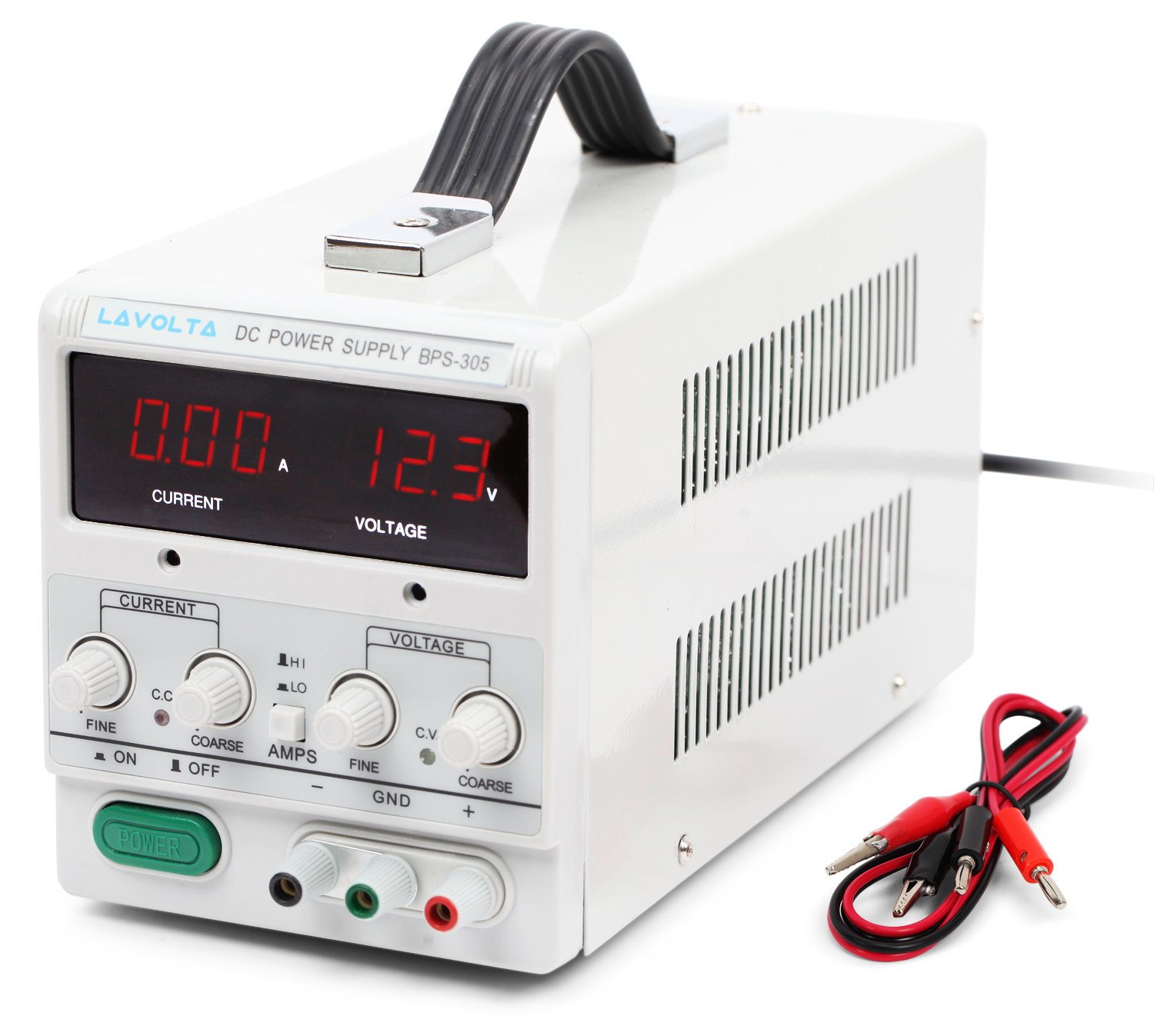 Lavolta Variable Linear DC Bench Power Supply 0 - 30V 0 - 5A - Regulated  Adjustable Precision Lab Kit BPS305