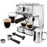 Espresso Machine 15 Bar Espresso Coffee Maker with Milk Frother Wand for Cappuccino, Latte, Mocha, Machiato, For Home Barista