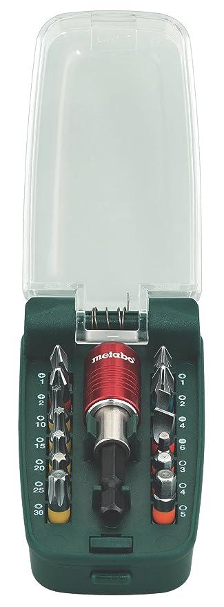 Metabo 630427000 - Caja de puntas de destornillador (15 ...