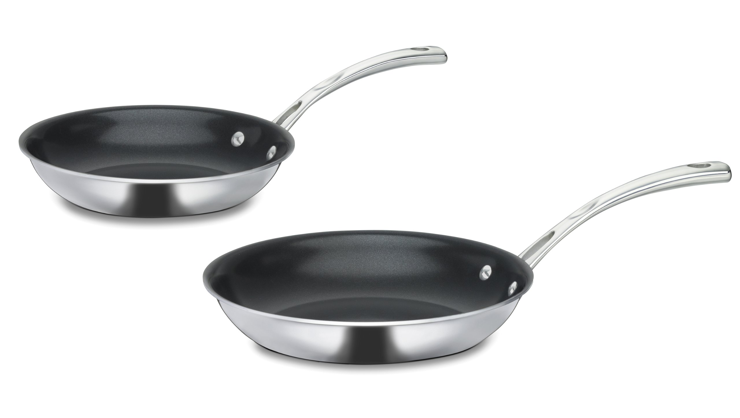 Cuisinart FCT22-911NS French Classic 2-Piece Non-Stick Fry Pan Set, 9-Inch and 11-Inch