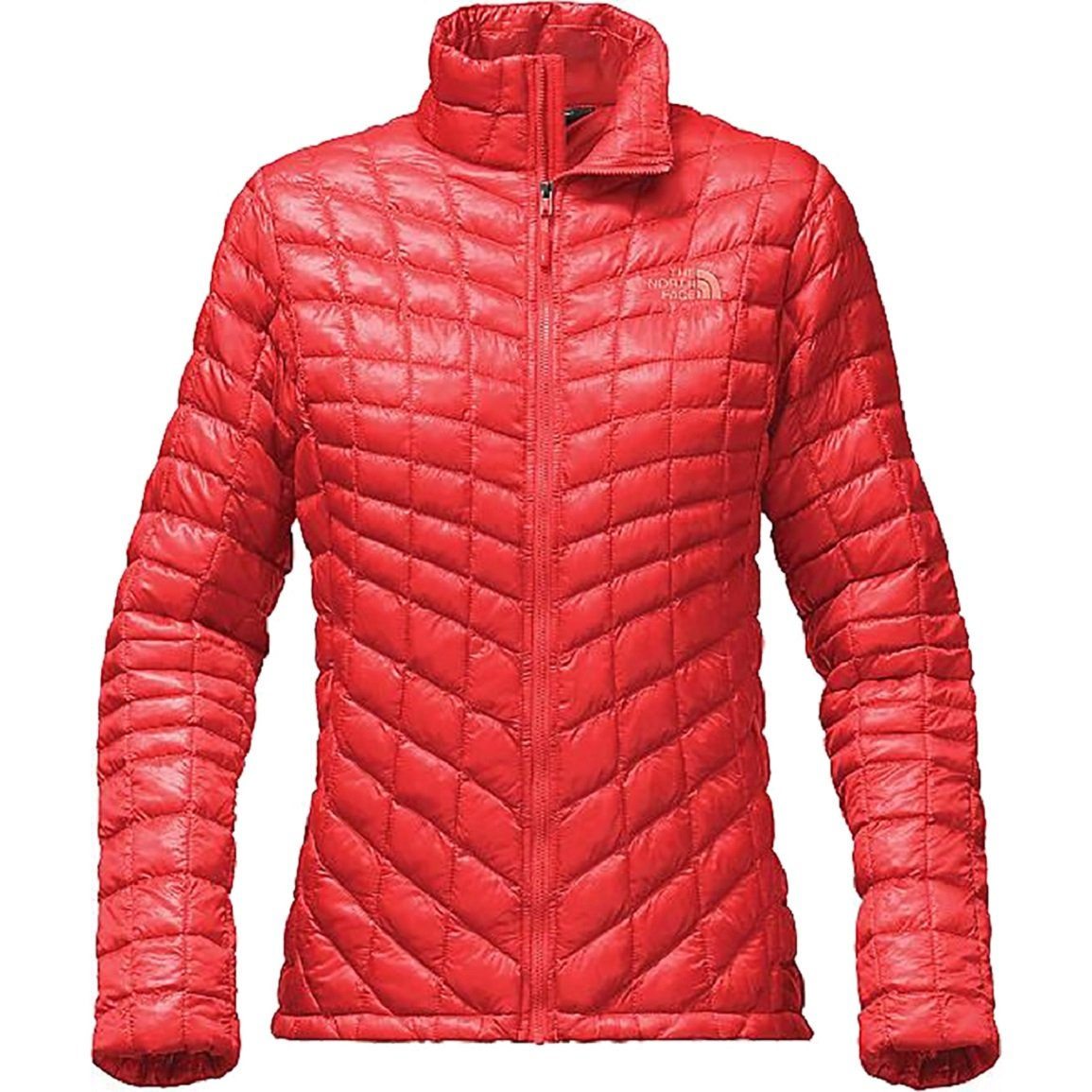 The North Face Women's ThermoBall Full Zip Jacket Cayenne Red M