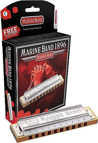 Mundharmonika HOHNER Marine Band Classic C diatonisch Richter C-Dur