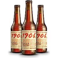 1906 Reserva Especial Cerveza - Pack de 24 botellas x 330 ml - Total: 7.92 L