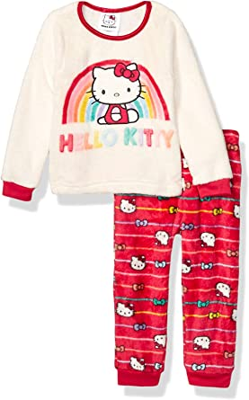 Baby Girls Infant Pink Toddler HELLO KITTY Sanrio Christmas Holiday Shirt 2T NEW