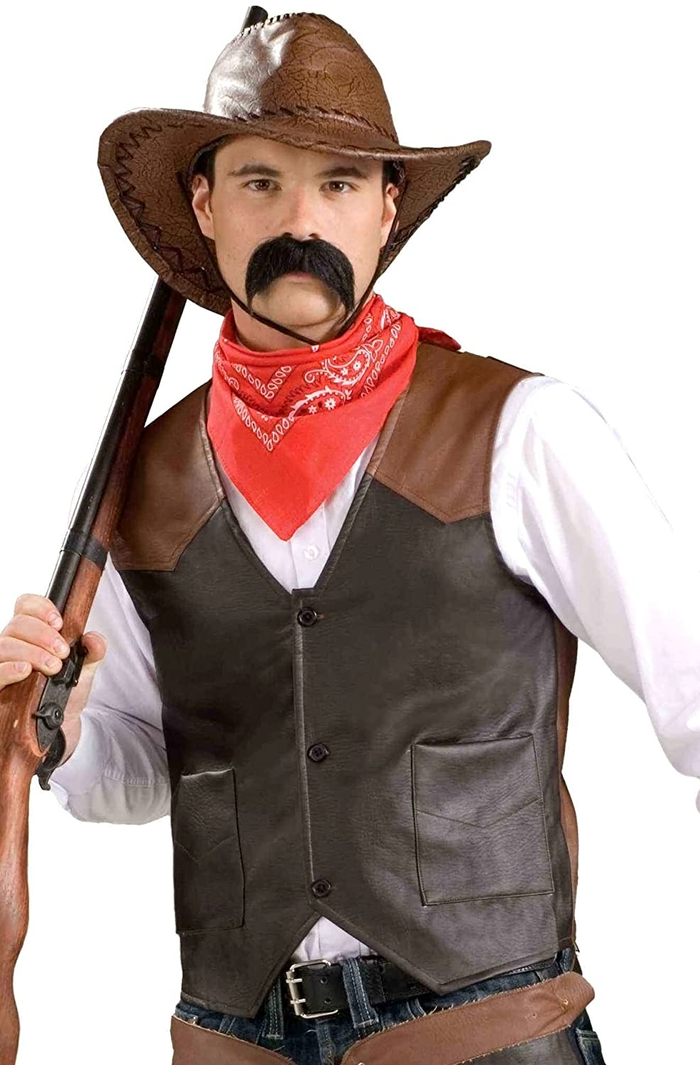 Amazon.com Forum Novelties Cowboy Costume Vest u2013 Adult Economy Standard Toys u0026 Games  sc 1 st  Amazon.com & Amazon.com: Forum Novelties Cowboy Costume Vest u2013 Adult Economy ...