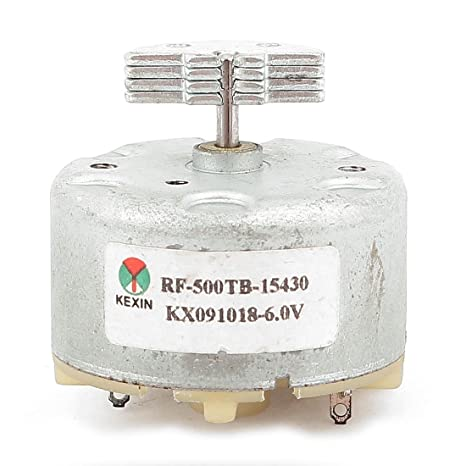 sourcingmap DC 3-12V 7200 del esfuerzo de torsión del motor eléctrico Mini para calentador