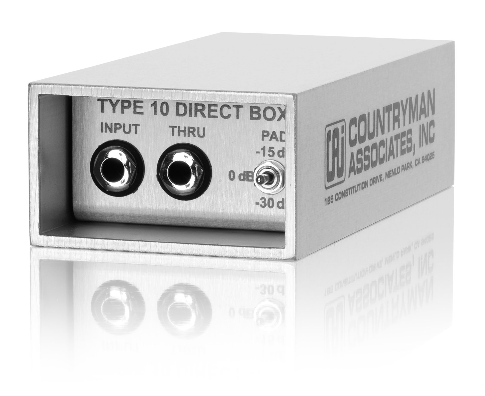 Countryman DT10 Type 10 Direct Box (Gray)