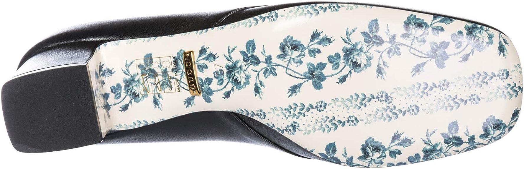 Gucci Mujer 525333 C9D00 1000 Cierre por Delante Negro Size: 39 EU: Amazon.es: Zapatos y complementos
