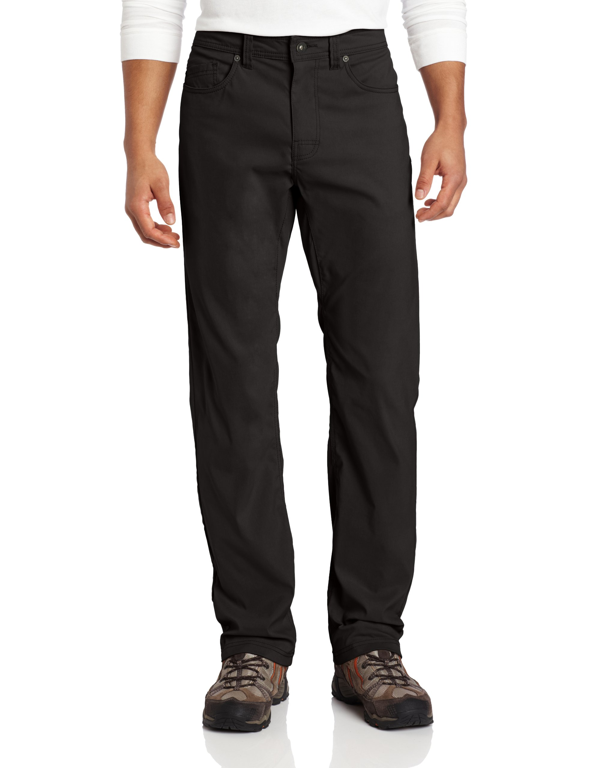 Prana Men's Brion 32-Inch Inseam Pant (Charcoal, 28x32 - inch Inseam)