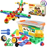 ETI Toys | STEM Learning | Original 101 Piece Educational Construction Engineering Building Blocks Set for 3, 4 and 5…