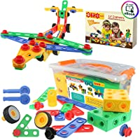 ETI Toys Construction Engineering Blocks Educational Toys for Boys and Girls - Set of 85 Pieces