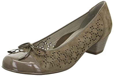 Braune Schuhe von ARA Weite H Gr. 7 12