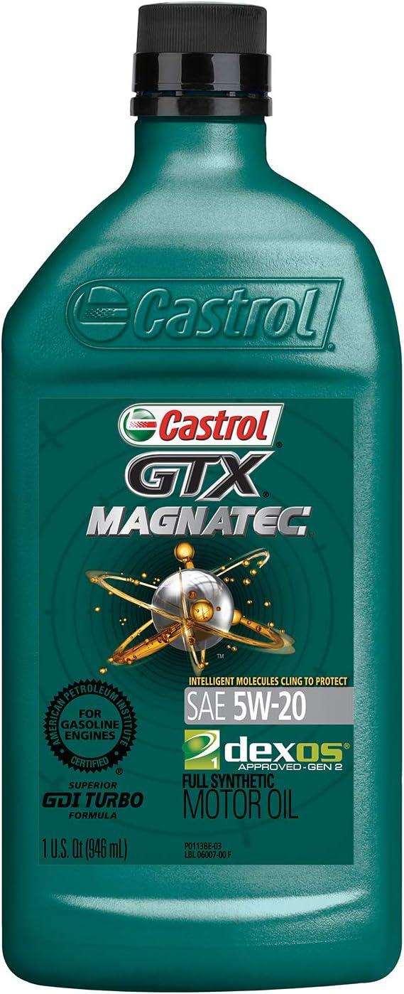 Castrol GTX MAGNATEC 5W-20 Full Synthetic Motor Oil