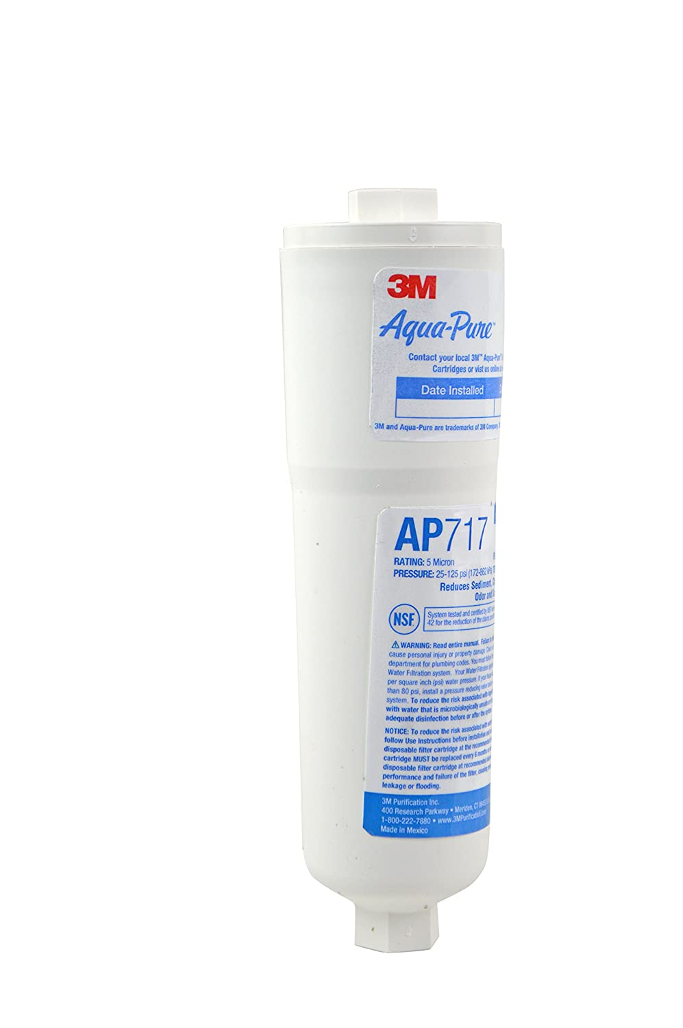 Aqua-Pure AP717 Drinking Water System Filter with Triple Action Filtration