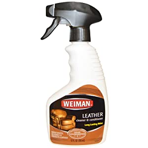 Weiman 12Oz Leather Cleaner & Conditioner Trigger 3-Pack