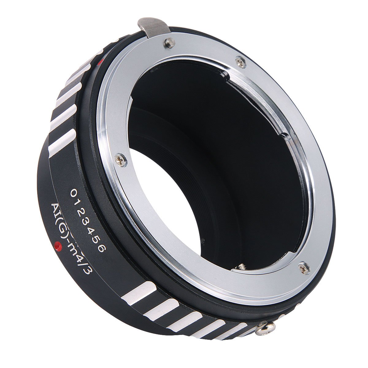 Haoge Manual Lens Mount Adapter for Nikon Nikkor G/F/AI/AIS/D Mount Lens to Olympus and Panasonic Micro Four Thirds MFT M4/3 M43 Mount Camera AI-G-M43