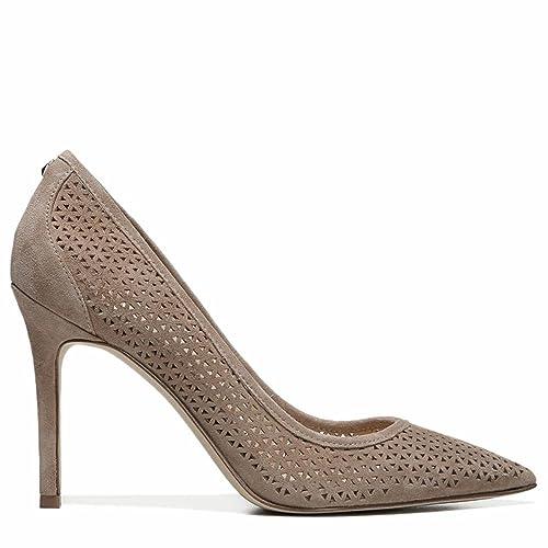 f7606c03e86 Sam Edelman Women s Hazel 2 Oatmeal Suede Sandal  Amazon.ca  Shoes    Handbags
