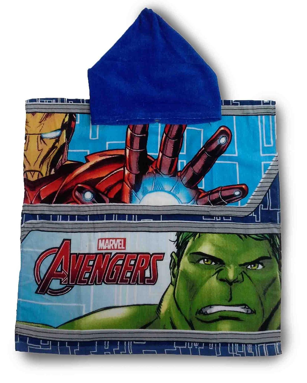 Marvel Avengers Hulk Poncho Hooded Towel
