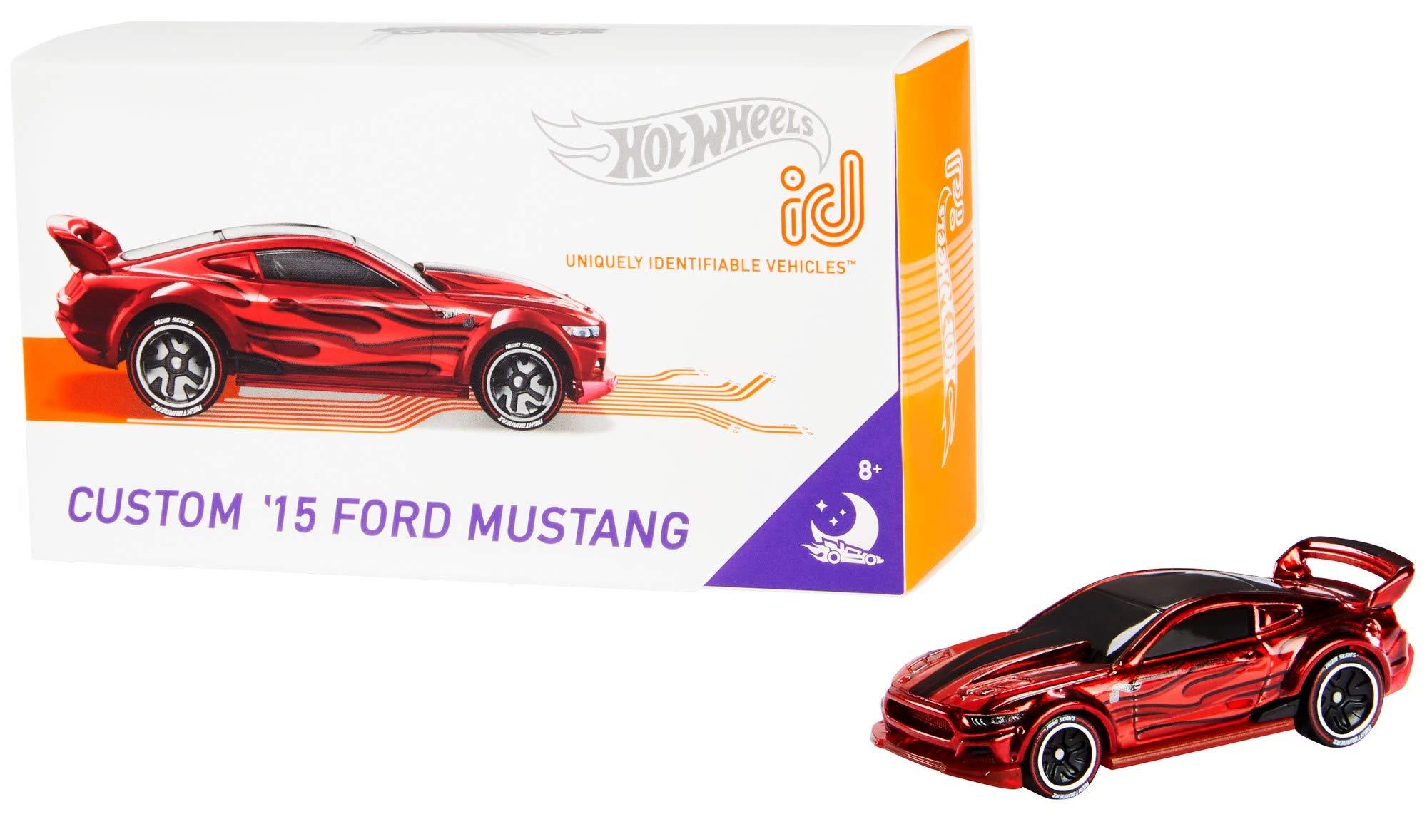 Hot Wheels id Custom '15 Ford Mustang {Nightburnerz}