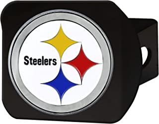 product image for FANMATS 22604 Hitch Cover (Pittsburgh Steelers), 1 Pack, Black