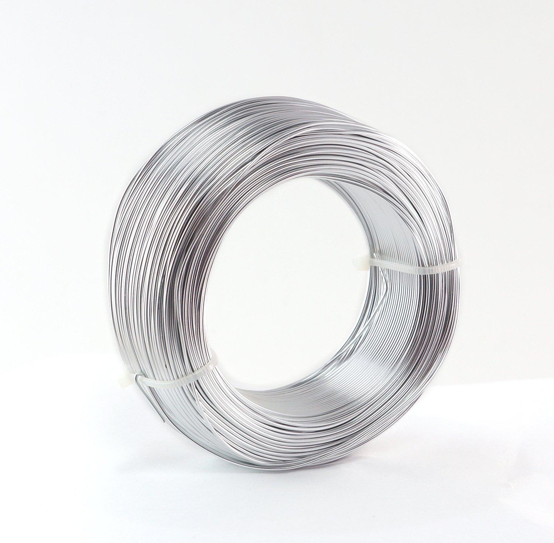Aluminiumdraht Aludraht 1mm x 120 Meter SILBER: Amazon.de: Küche ...
