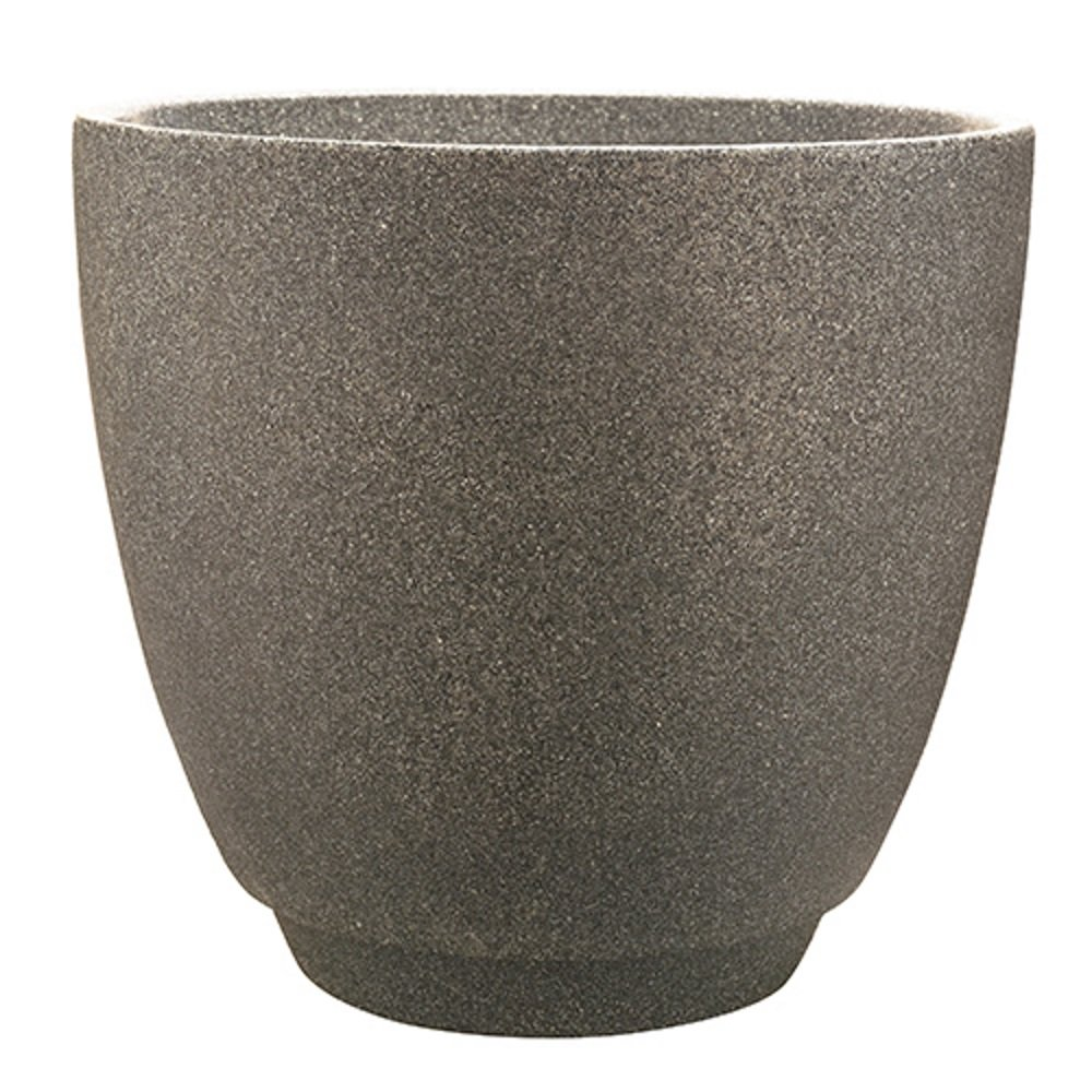 "Southern Patio 23"" Metro Poly-Resin Planter, Monzonite"