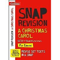 A Christmas Carol: New Grade 9-1 GCSE English Literature Edexcel Text Guide (Collins GCSE 9-1 Snap Revision)