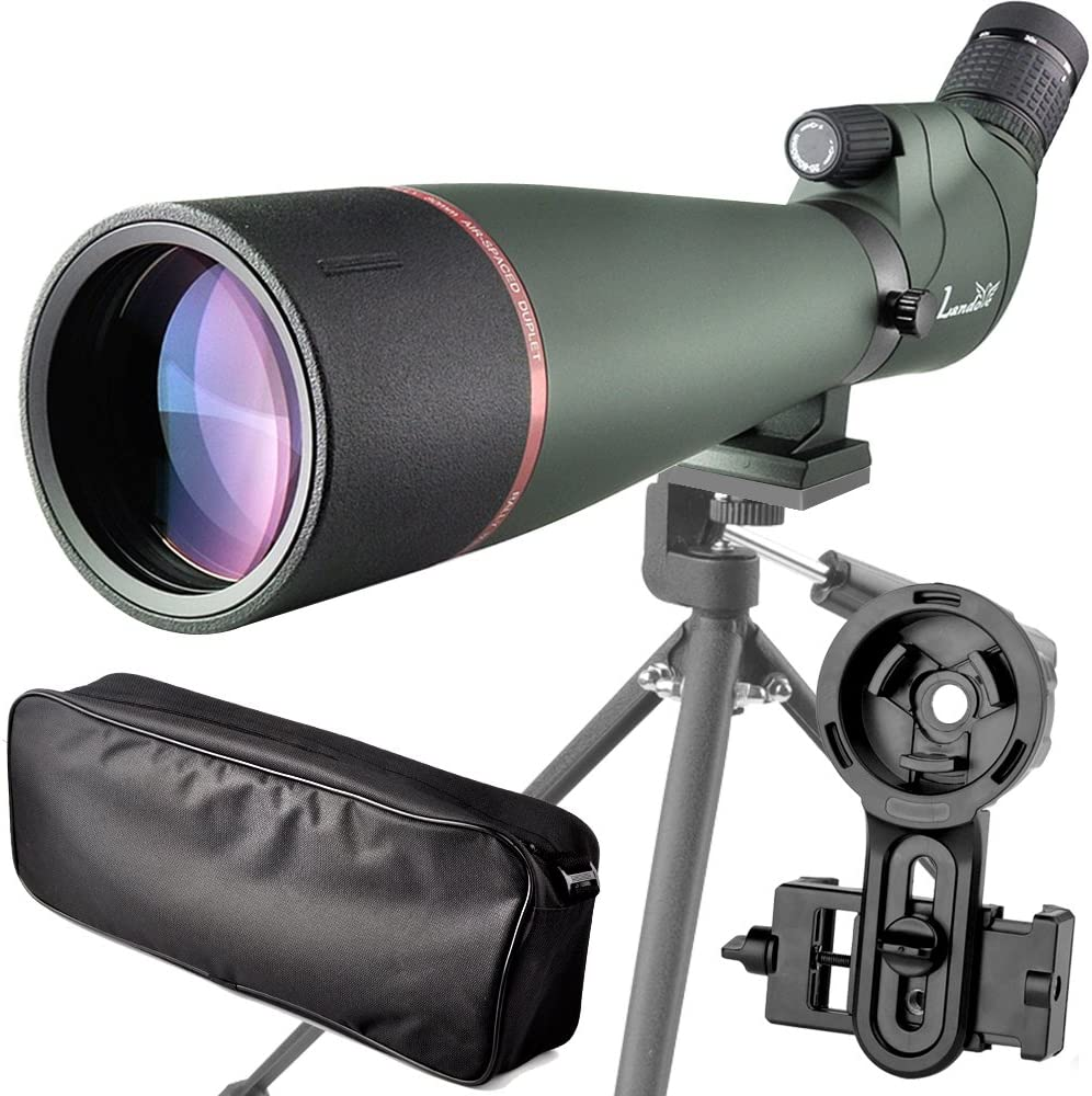 best spotting scopes for hunting: Landove 20-60X Prism Spotting Scope