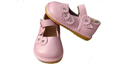 Toddler Boots Hot Pink with White Dots Up to Toddler Size 7 Squeaky Boots