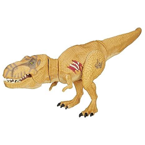 Action- & Spielfiguren Jurassic World Tyrannosaurus T-Rex Chomping Dinosaur Action Figure Hasbro 2015