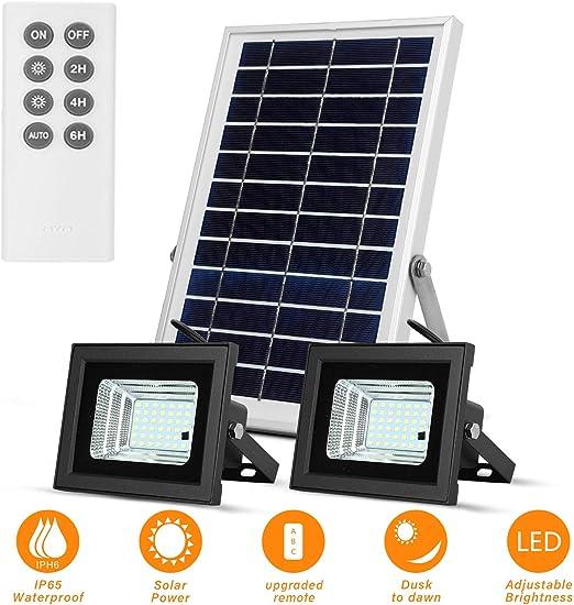 ULTRA luminosa 54 LED luce di sicurezza SOLAR POWERED OUTDOOR Lampada da Parete Impermeabile