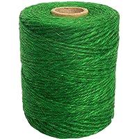 ANSIO Jute touw, 500 voet, Perfect voor Decoratie Tuin Bloemenkunde DIY Arts Bundelen Ambachten & Wrapping 500 ft 3 ply…