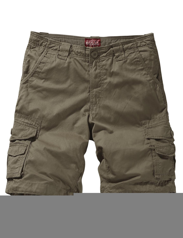 Match Men's Twill Comfort Cargo Short Without Belt #S3612 (Label size 2XL/36 (US 34), Light khaki)