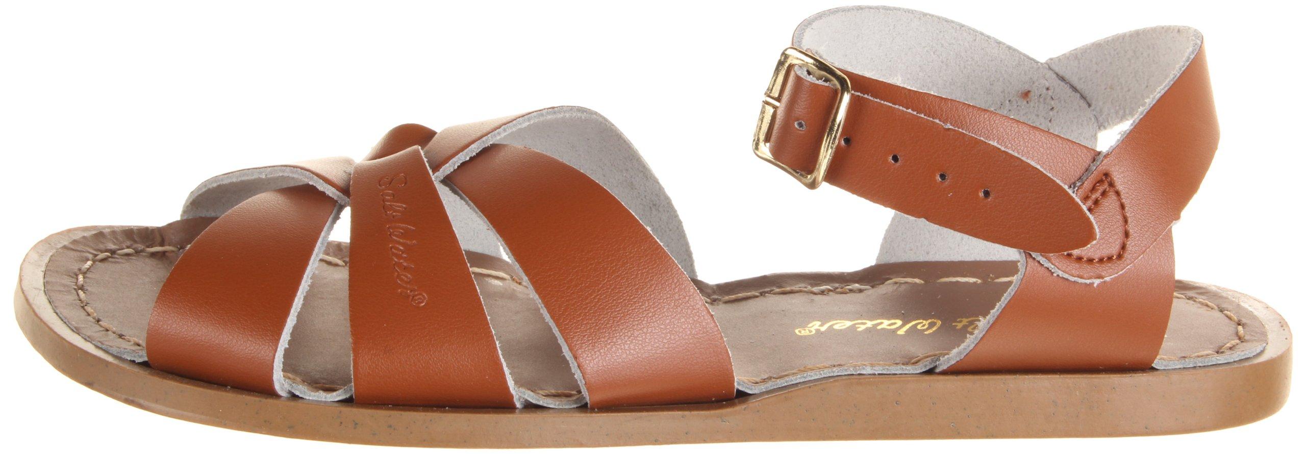 Salt Water Sandals by Hoy Shoe Original Sandal (Toddler/Little Kid/Big Kid/Women's), Tan, 7 M US Big Kid by Salt Water Sandals (Image #5)